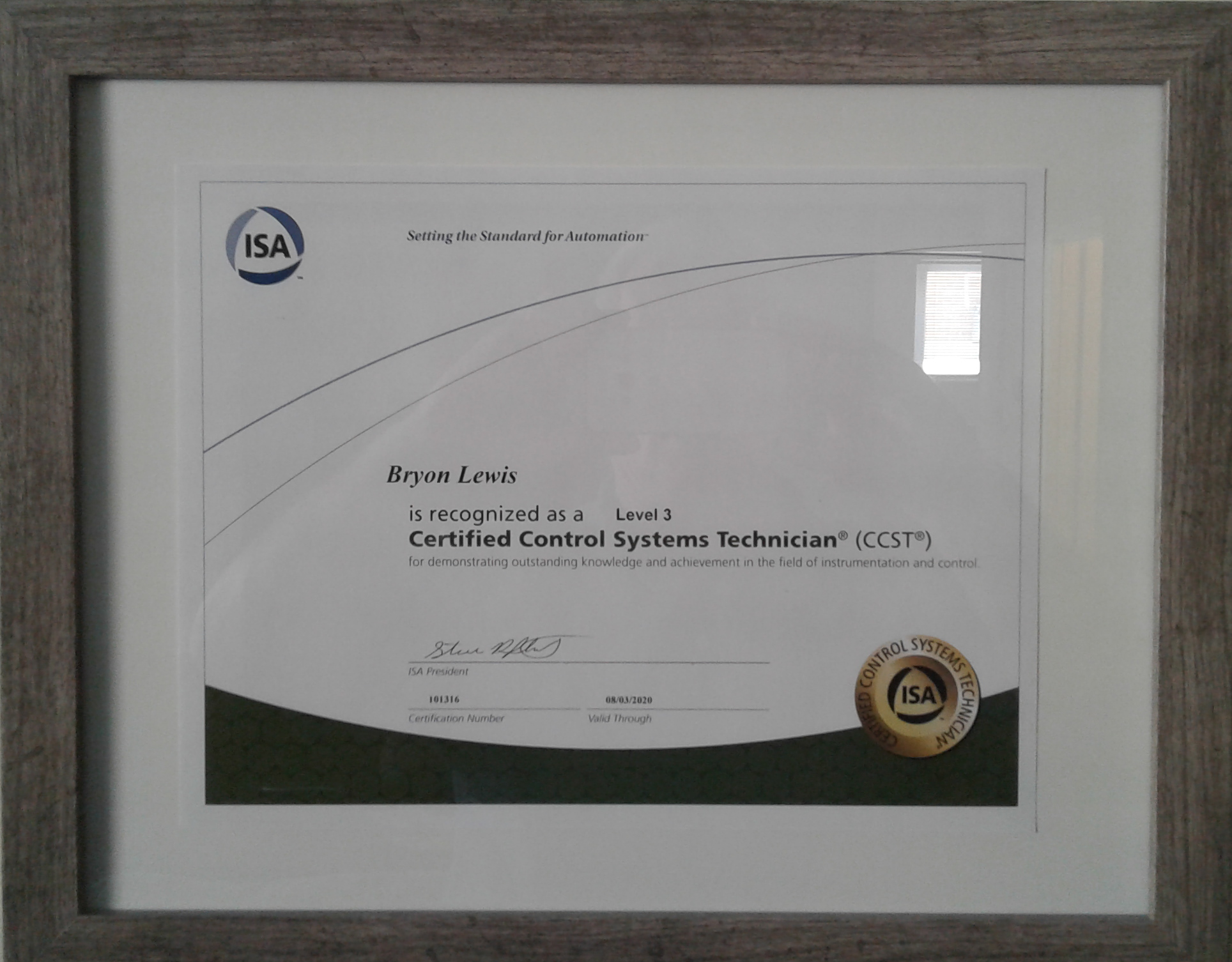 isa systems certif